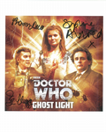 Sharon Duce, Ian Hogg,  Sophie Aldred, Doctor Who, Genuine  Signed Autograph 10 x 8 Photograph 10474